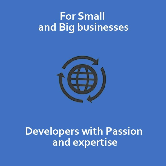 For Big and Small Businesses – IT solutions